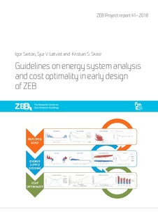 Guidelines on energy system analysis and cost optimality in early